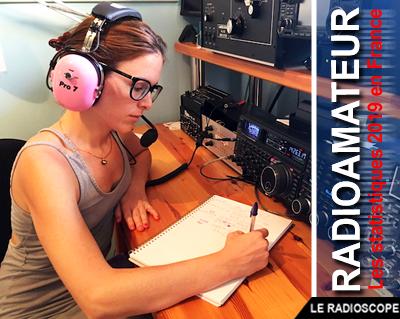 statistiques 2019 radioamateur