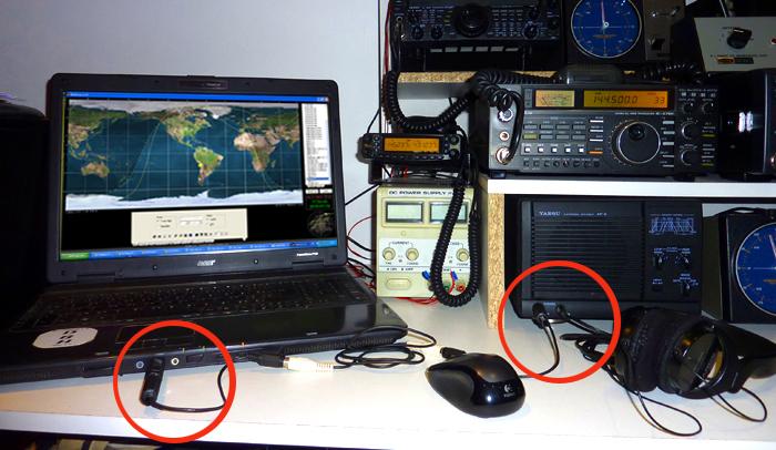 image_cablage tranceiver pc pour reception satellite